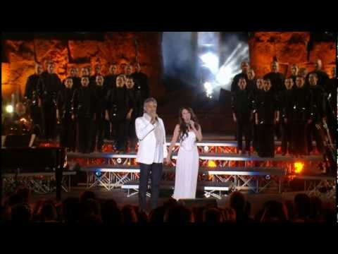 Andrea Bocelli & Sarah Brightman- Con te partiro / Time to say goodbye * HD *(live)