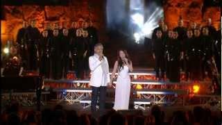 Andrea Bocelli & Sarah Brightman- Con te partiro / Time to say goodbye * HD *  (live)