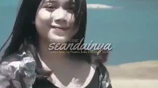 Gambar cover Brisia Jodie - Seandainya (Official Lirik Video)
