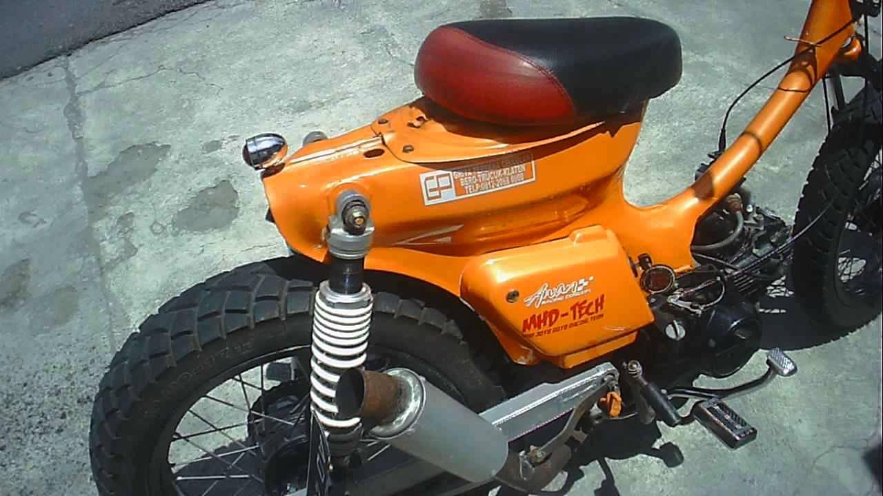 Koleksi Ide 70 Modifikasi Motor Honda Grand 91 Terlengkap Pojok