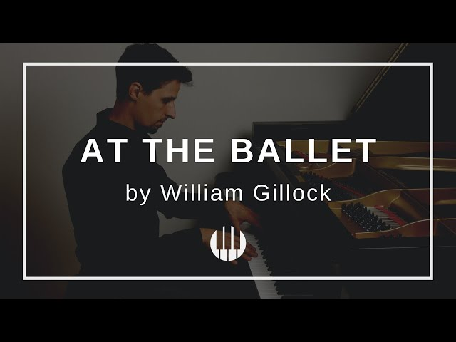 At the Ballet by William Gillock