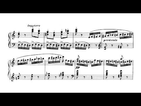 Flight of the Bumblebee (arr. Rachmaninoff) with Score - P. Barton, piano