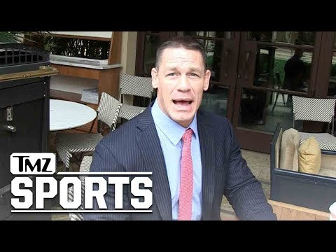 John Cena Says Daniel Bryan Is Born To Wrestle, Did Everything To Come Back | TMZ Sports