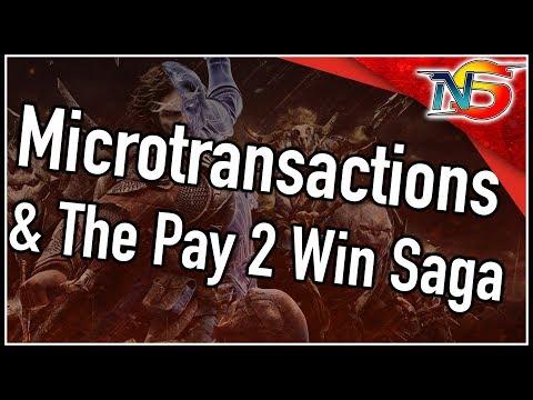Microtransactions & The Pay 2 Win Saga