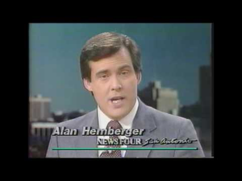 KMOL TV San Antonio TX Newscast 1 - 1980s