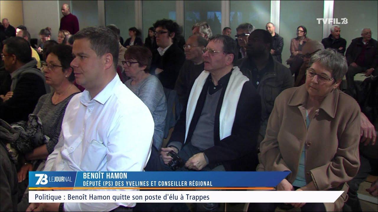 Politique : Benoit Hamon quitte son mandat à la ville de Trappes