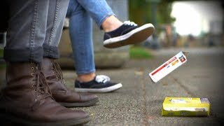 Litterbug discards trash all over Portland park   What Would You Do?   WWYD
