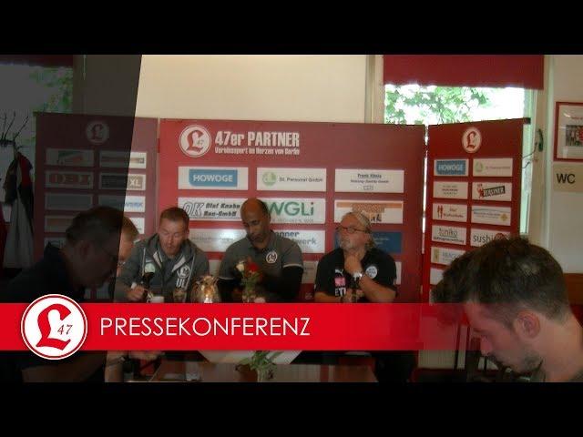 Regionalligateam: Pressekonferenz nach dem Spiel Lichtenberg 47 – Wacker Nordhausen