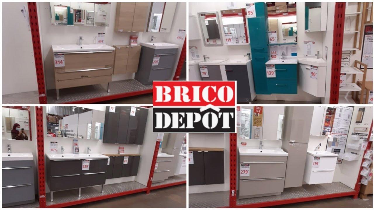 Brico Depot Meuble Salle De Bain 14 08 20 Youtube
