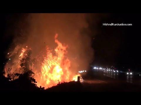 11 20 2017 60 Fwy Brush Fire At Market St Riverside CA Sig Alert