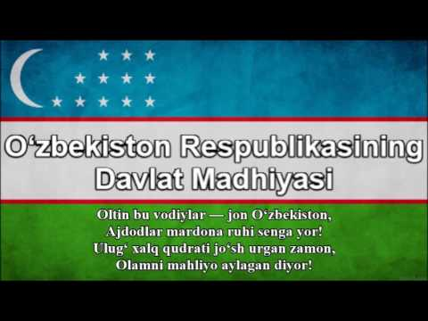 National Anthem of Uzbekistan (Nightcore Style With Lyrics)