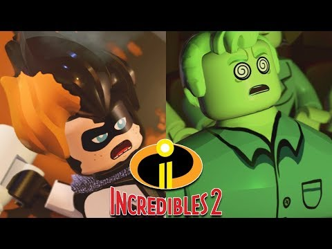 LEGO THE INCREDIBLES 1+2 All Endings - Ending & Final Boss Fight