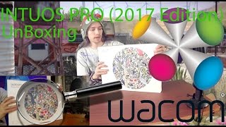 Wacom Intuos Pro (2017 Edition) Medium Unboxing