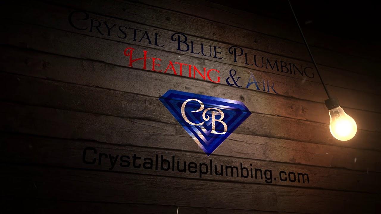 Crystal Blue Plumbing Heating Air Youtube