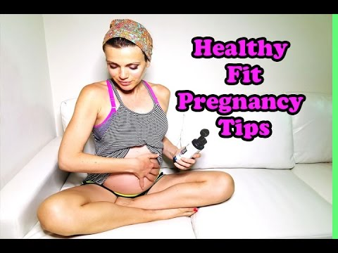 Healthy & Fit Pregnancy Tips ♥ Must Have Products & Books
