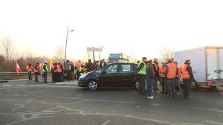 Les routiers à nouveau en grève lundi