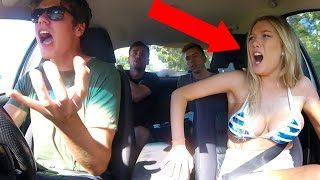 EPIC CAR CRASH PRANK!!