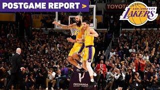 Postgame Report: Lonzo Ball
