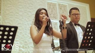 Aku Wanita - Bunga Citra Lestari ft. Dipha Barus (cover by KEYS Wedding Entertainment Jakarta)