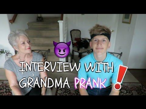 With Grandma Prank