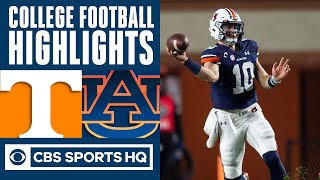 Tennessee Vs #23 Auburn Highlights: Tigers Win 3rd In A Row | CBS Sports HQ