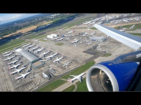 (4K) British Airways A321 Club Europe | Heathrow to Paris CDG | Flight video - BA316