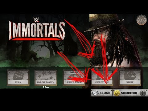Repeat WWE IMMORTALS Hacked WBID (PLATINUM BARS HACKED) by