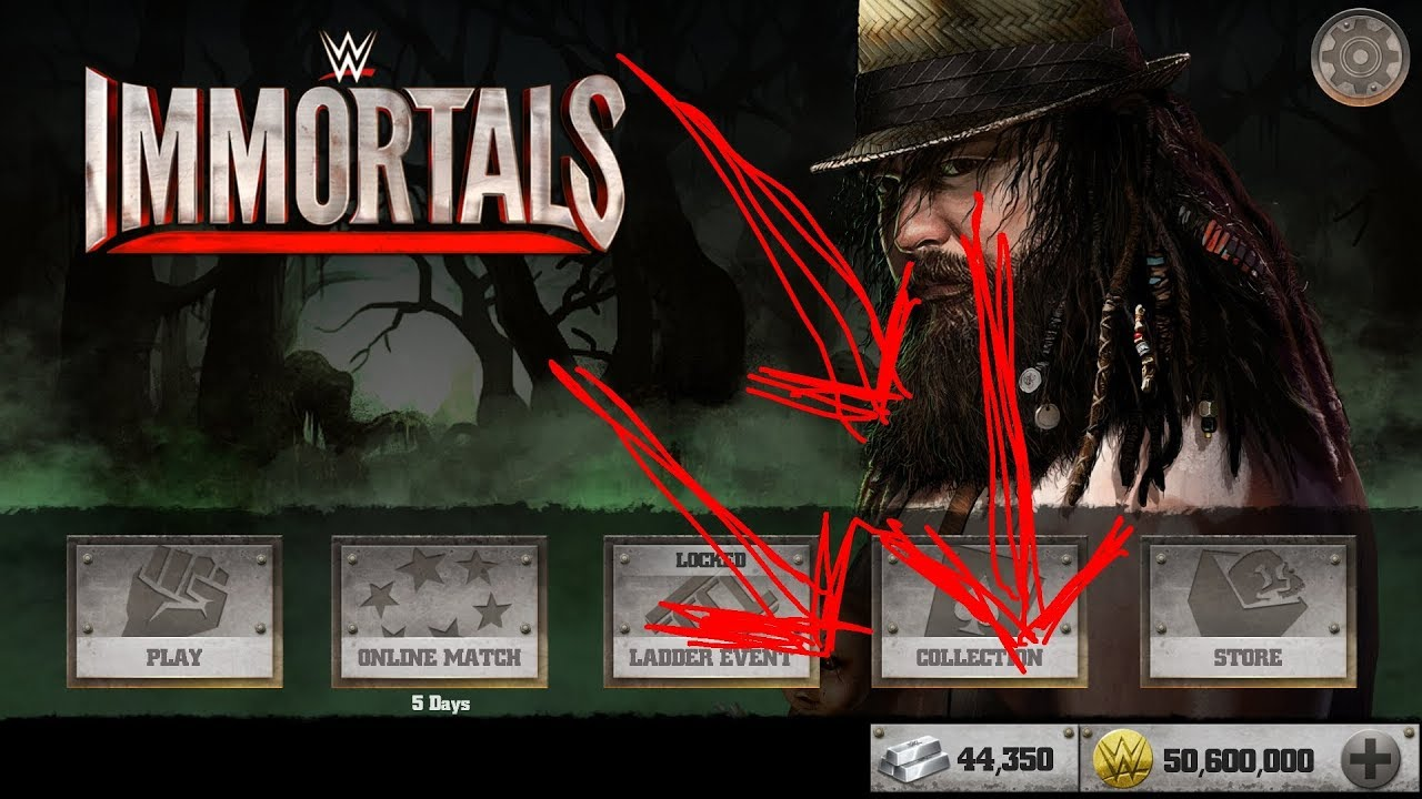 wwe immortals platinum hack apk