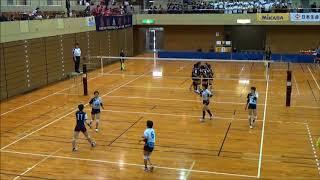 平成29年度 全日本バレーボール皇后杯 Aグループ 代表決定戦 これは凄...