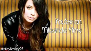 Miranda Cosgrove - High Maintenance (with lyrics)