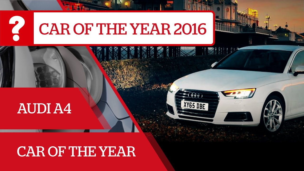 Audi A What Car Car Of The Year Sponsored YouTube - Audi car year