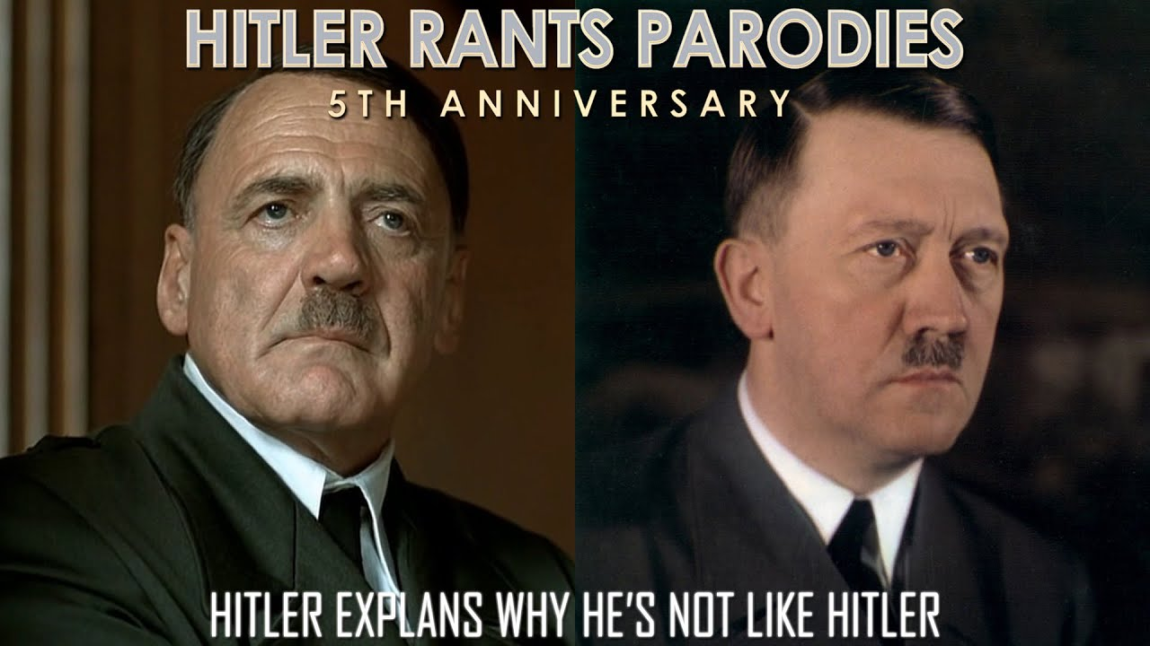Hitler explains why he's not like Hitler