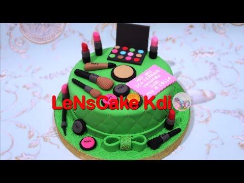 how-to-make-birthday-cake-makeup---cara-membuat-kue-ulang-tahun-makeup