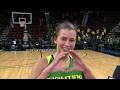 Lexi Bando on Oregon women's basketball's upset win over Washington: 'We played unreal'