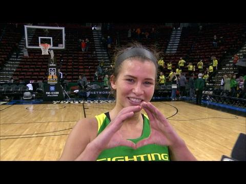 Lexi Bando on Oregon women\'s basketball\'s upset win over Washington: \'We played unreal\'