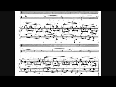 Nikolai Roslavets - Piano Trio No. 3