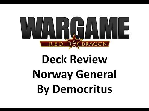 Wargame Red Dragon - Norwegian General Deck by Democritus