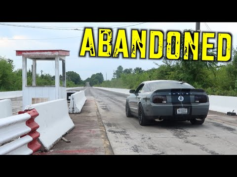 Exploring Abandoned Race Track in my GT500