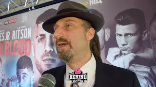 EMOTIONAL DAVID DIAMANTE'S THOUGHTS ON HOW BOXING CAN CHANGE & REDUCE DEATHS, CANELO V OTHER LHW'S