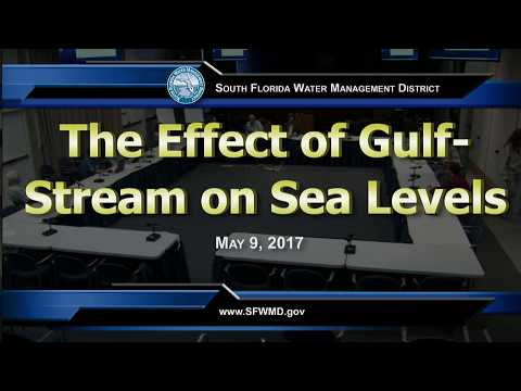 Gulf Stream Effects on Sea Levels on the US East Coast