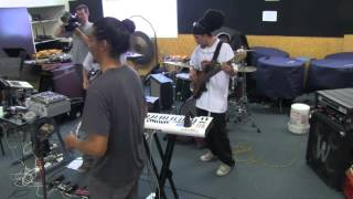 Audiopharmacy workshop with Manurewa High School music students