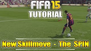 Fifa 16 (15) | New Skillmove Tutorial: The Spin | how & when to use it + ingame examples!
