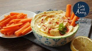 Hummus | základní recept | za mě ten nejlepší
