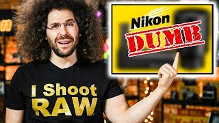 Nikon's DUMBEST PRODUCT(S) EVER?! Canon RESPONDS…