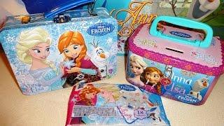 Disney Frozen Elas & Anna Giant Surprise Gift Box & Lunch Bag Xmas Toys Eggs Bags