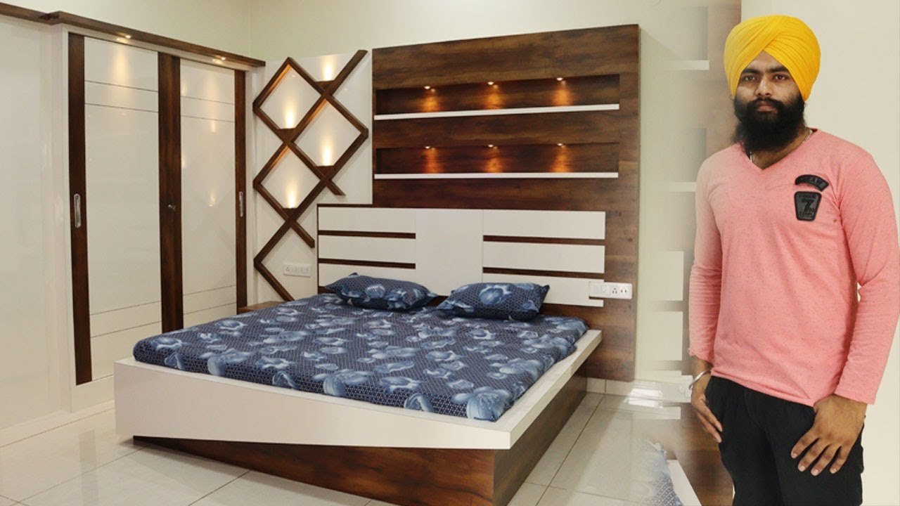 Dreamy & luxurious bedroom design - interior decorating ideas/Pind Mallian/  GURU INTERIOR 11K VIDEOS