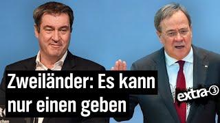Laschet vs. Söder – CDU und CSU im Streit