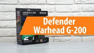 Rescue Defender Warhead G-200 / Unboxing Defender Warhead G-200