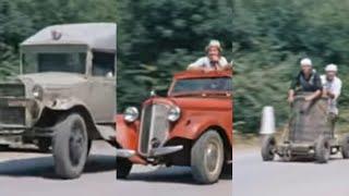 Погоня автомобилей из фильма Кавказская пленница (1967)