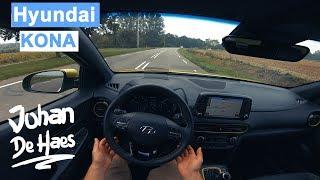 Hyundai KONA 1.6T-GDI 177 hp POV test drive